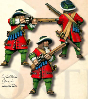 Coldstream Guards musketeers