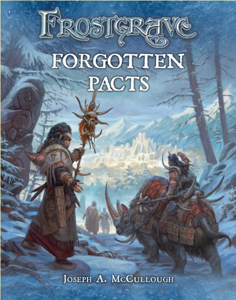 With this new supplement for Frostgrave, In this supplement for Frostgrave, players lead their warbands into the northern reaches of the city, exploring the ruined temples of the Frozen City to search for the lost secrets of evocation.