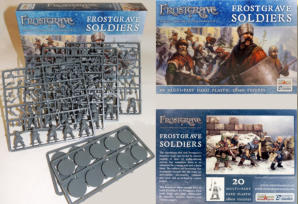 A Frostgrave Soldier's role is to accompany his Wizard employer into the frozen city, to fight their opponents, beat off wandering monsters and grab any treasure found.