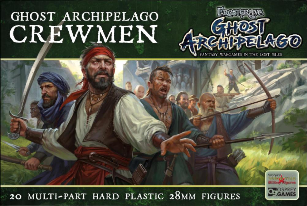 Frostgrave Ghost Archipelago Nickstarter Fantasy Wargames In