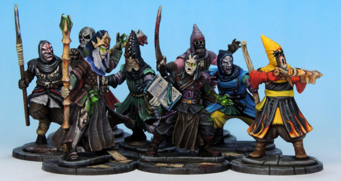 Lich Wizards Warband