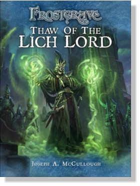 Thaw of the Lich Lord is a complete campaign for Frostgrave that will challenge both new and veteran players. Through a series of linked scenarios, players discover the existence of a new power in the Frozen City.