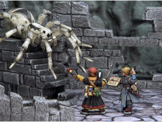Plastic models from Frostgrave,