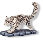 The largest and most vicious of the big cats around Frostgrave, the snow leopard is a dangerous hunter. They have no fear of humans and will attack if they are hungry of feel threatened.
