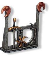 Free weapon rack