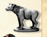 If we reach Spend Goal 1, everyone but Pit Slaves will get a metal model of a Hyena. The Hyenas are a common beast seen in the pits below Felstad, and feature in the encounter charts. Useful figure to have.