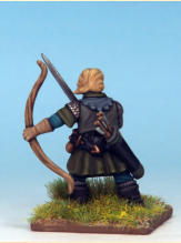 This elf is made using a body from the Frostgrave soldiers set; I was thinking he could be of a woodland elf or a elf adventurer…