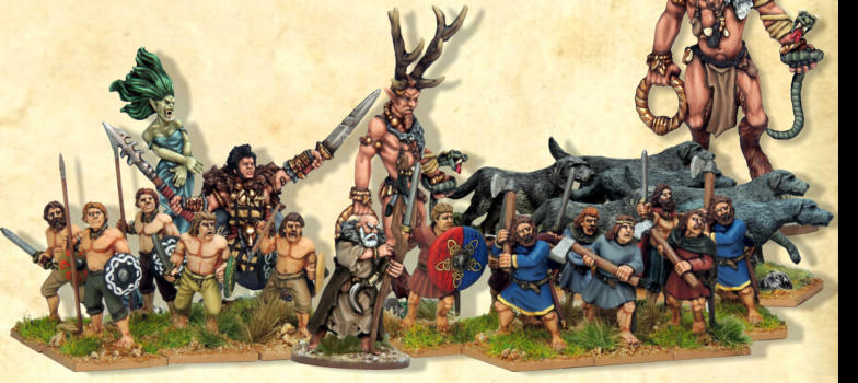 We have designed a ready made 900 points Celtic army deal for the new Osprey Wargame, Of Gods and Mortals.