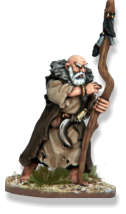 Druid, priest and magician of the Celts. The figure is available here on its own as part of the Nickstarter promotion. Druid will only be available in the box set after the Nickstarter promotion ends in November 2013.