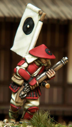Ashigaru with teppo & medium armour from the Bushi Buntai.
