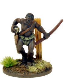NSA5002 - Jungle Cannibal bowmen representing tribal warriors of the Congo.