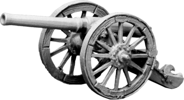 The successor to the British 7 Pounder Mountain Gun, designed in 1879. Called the Screw Gun because it came in two parts for ease of travelling by Mules, the two parts screwing together when deployed.