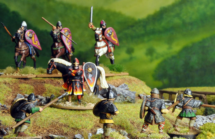 I was invited to join in a series of games using Saga, the Dark Age skirmish game, that was to be set in post-Hastings England and when asked what side I'd like to be on I said 'the Normans' without hesitation.