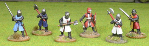Lord Eyre's foot knights.