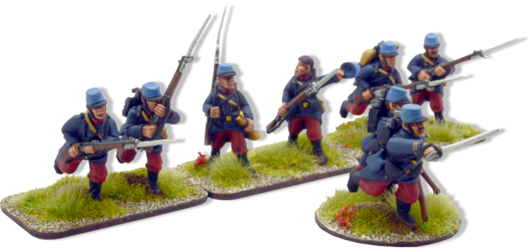French Infantry Advancing