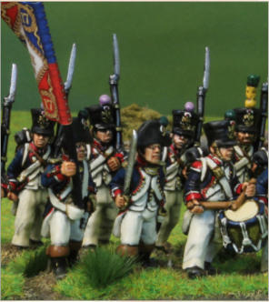 Napoleonic French - Centre Company