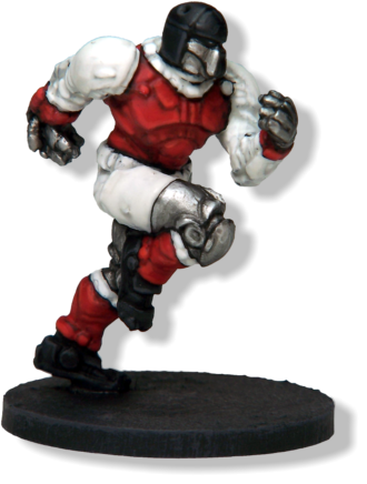 PANTING DREADBALL PLAYERS